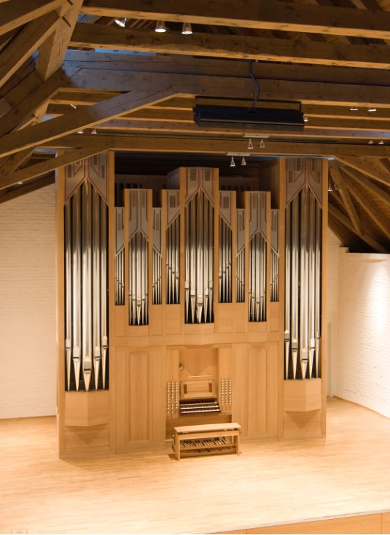 Die neue Goll-Orgel im Konzertsaal