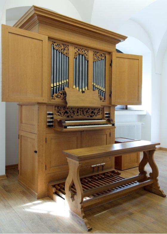 Orgel nach norddeutsch-barockem Vorbild, Reil, Heerde (NL), 1990
